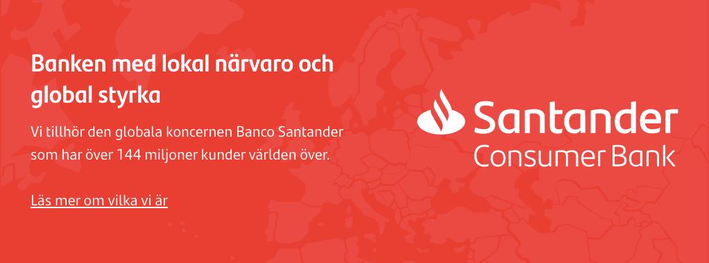 Santander Consumer Bank - Specialiserade på Privatlån och Billån. Ansök här!